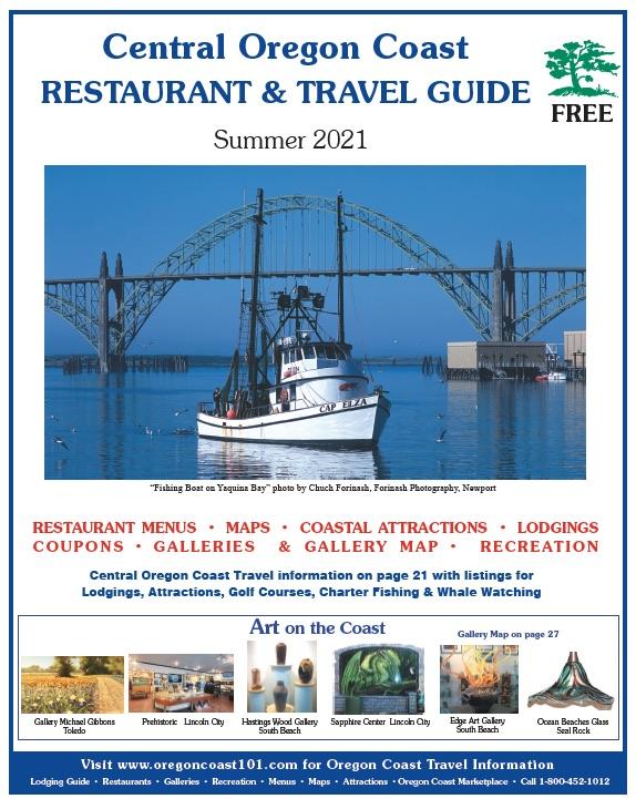 Oregon Coast Restaurant Guide Summer 2021