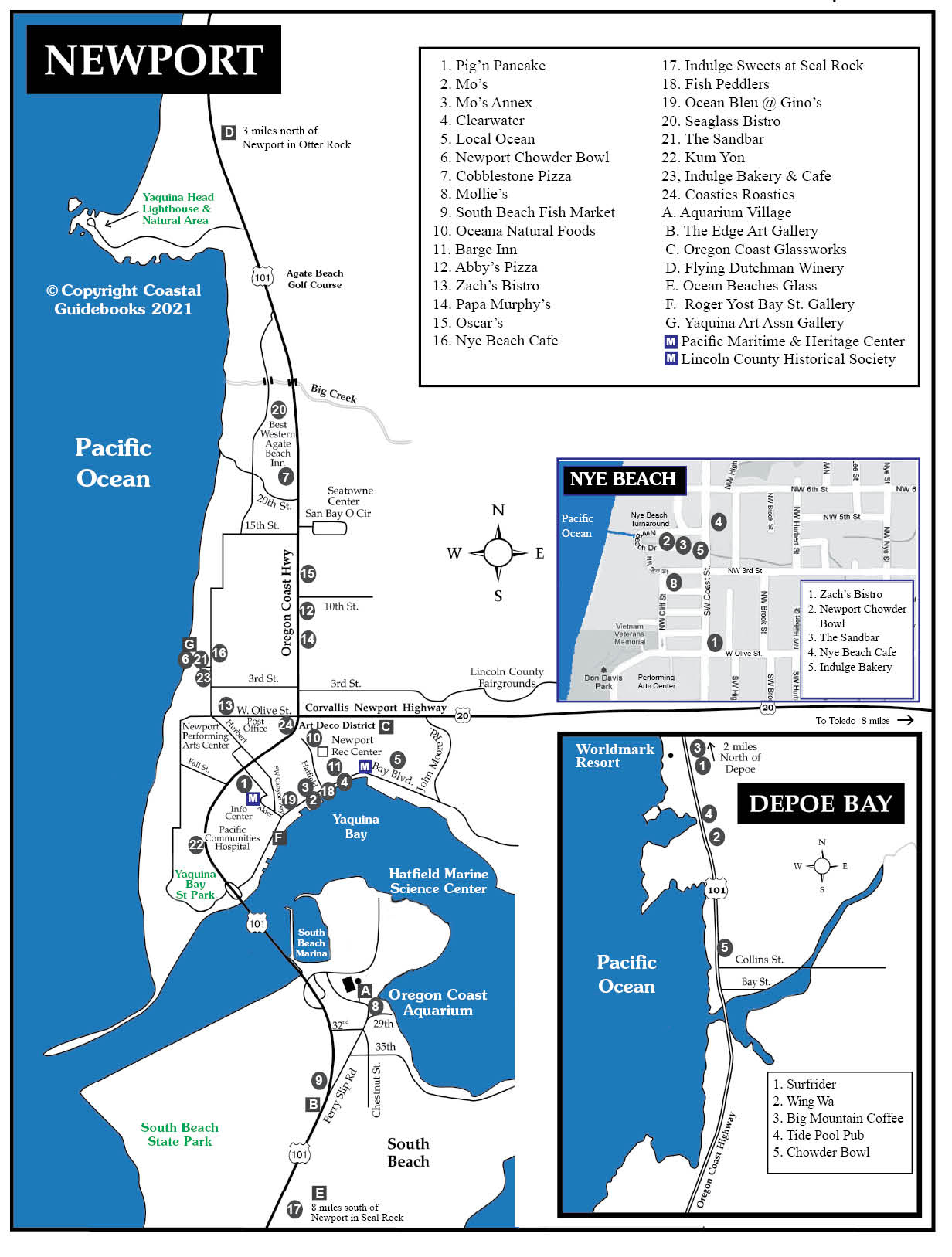 2021 Map of Newport